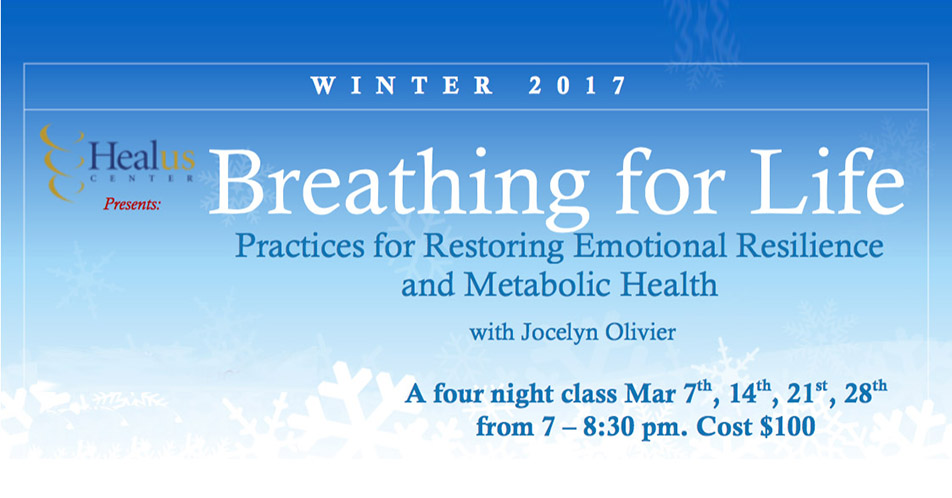 Breathing to Restore Emotional Resilience and Metabolic Health